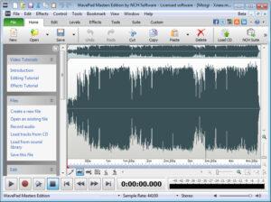 WavePad Sound Editor 10.81 Crack + Registration Code Free Download