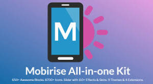 Mobirise 4.12.4 Crack With License Key Full Free Download