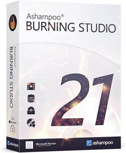 Ashampoo Burning Studio Crack 21.6.0.60 & Activation Keygen Latest