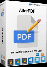 AlterPDF Pro 5.1 Crack With License Key[Latest2021]Free Download