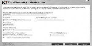 K7 TotalSecurity 16.0.0476 Crack + Activation Code [2021] Free Download